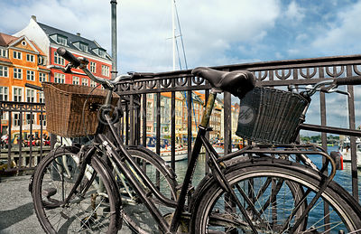 Bicycles on Nyhavn