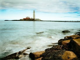 St Mary's Lighthouse, Northumberland,