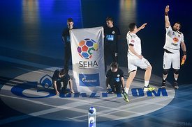 Stojanche STOILOV of Vardar during the Final Tournament - Final Four - SEHA - Gazprom league, first place match, Varazdin, Croatia, 03.04.2016..Mandatory Credit ©SEHA/Nebojša Tejić