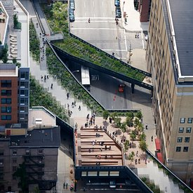 The High Line aerial pictures
