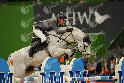 BEERBAUM Ludger, (GER), Colestus during CSI5-W_1,60_Longines World Cup Grand Prix competition at Madrid Horse Week at IFEMA, Madrid - Spain