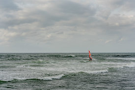 Windsurfer by Klitmøller 2