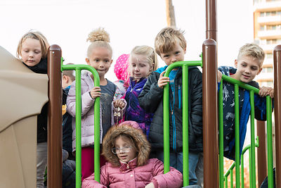 Freemason Playground Ribbon Cutting photos
