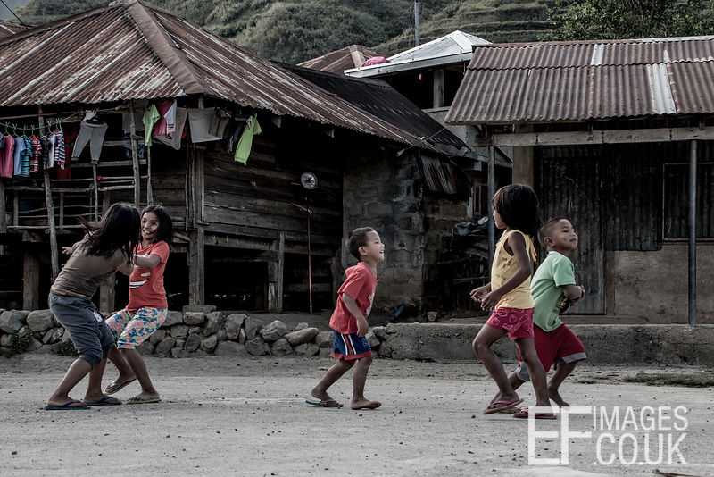 Playing In The Schoolyard In Buscalan
