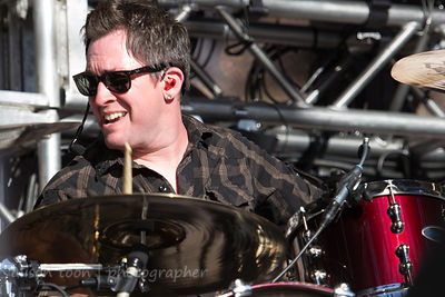 Sam Loeffler, drums, Chevelle, Aftershock 2014