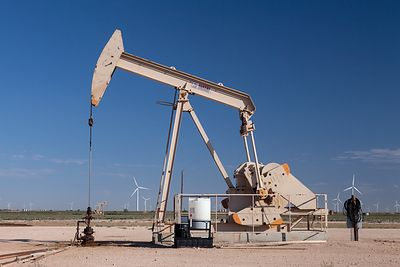 Pump Jack and Wind Turbines