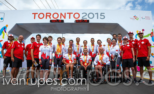Toronto 2015 Parapan Am Games, Milton, On; August 13, 2015