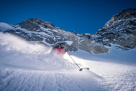 Powder turn with Adrien Coirier
