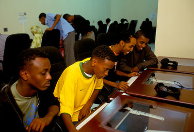 Email cafe in Somaliland