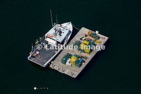 Portland Lobster Boat And Traps