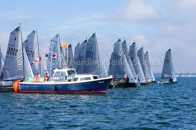 Merlin Rocket Silver Tiller at Parkstone, October 16 (all photos) photos