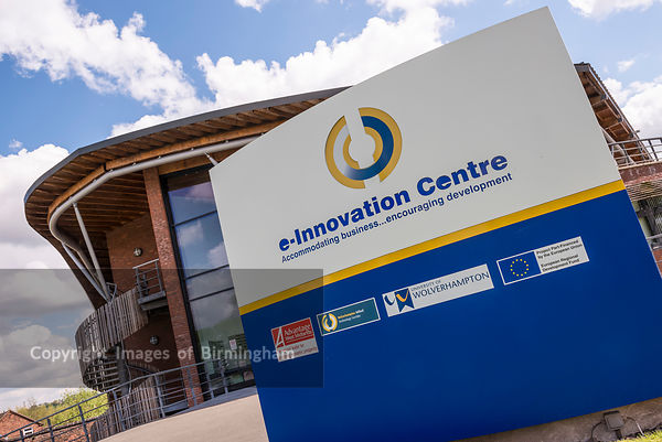 E-Innovation Centre, the University of Wolverhampton, Telford, Shropshire.