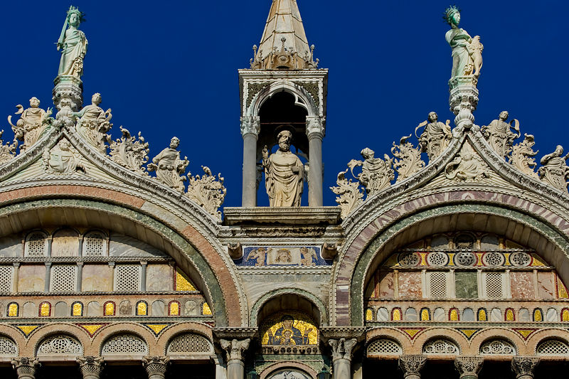 Details of Tetrarchs on the Rooftop of the Basilica di San Marco, Venice