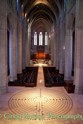 Grace Cathedral Stone Labyrinth