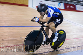 Junior Men Individual Pursuit Final. 2016/2017 Track O-Cup #3/Eastern Track Challenge, Mattamy National Cycling Centre, Milton, On, February 11, 2017