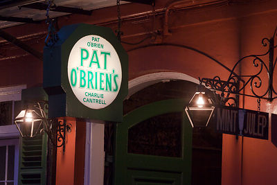 Pat O'Brien's Sign