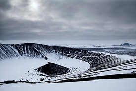 Hverfjall Crater