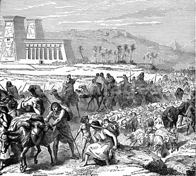 Hebrew exodus from Egypt