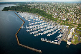 Shilshole Bay Marina On Puget Sound, Seattle