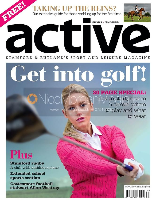 Active Magazine Cover, March 2013
