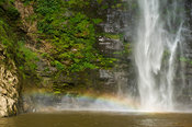 Wli falls or Agumatsa falls is the highest waterfall in Ghana, Agumatsa Wildlife Sanctuary, Ghana