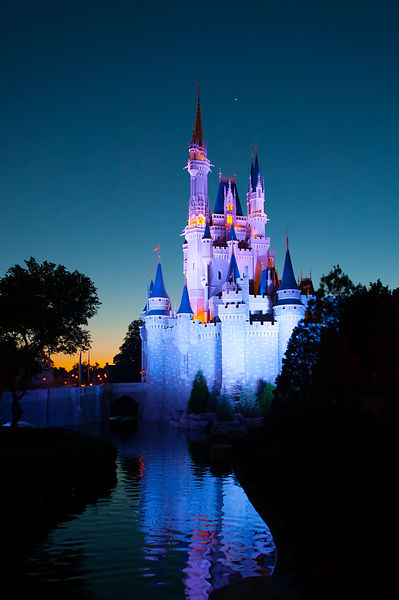 Cinderella Castle in Twilight
