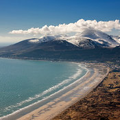 Mourne Mountains aerial photos