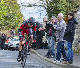 The Cyclist Ben Hermans - Paris-Nice 2016