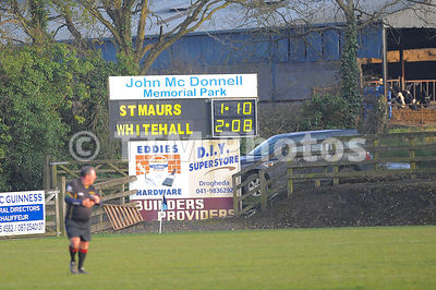 Dublin Club Championship | Whitehall v St Maurs | 140418 photos