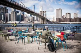 Pont de Brooklyn, New-York, Novembre 2014