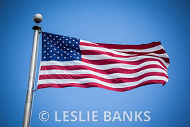 American Flag on a Flagpole images