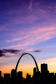 St. Louis Silhouette