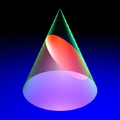 conic section: ellipse #6