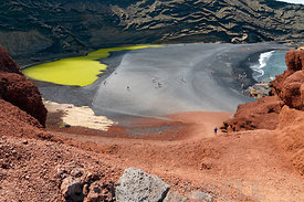 El Golfo, Lanzarote, Canary Islands, Spain.