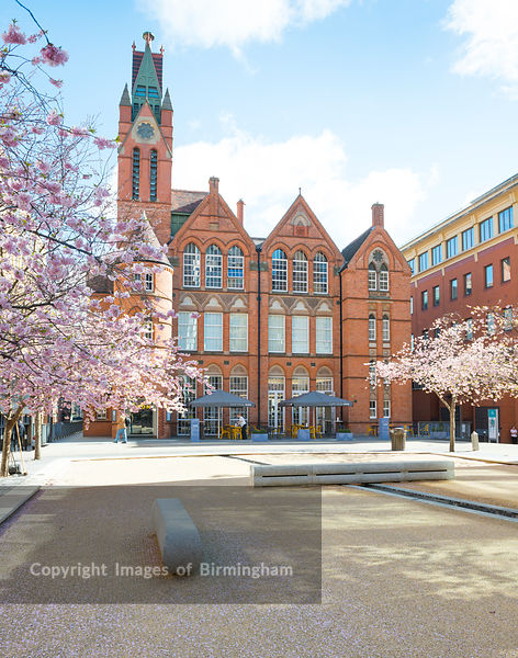The Ikon Gallery, Oozells Square, Brindleyplace, Birmingham, England.