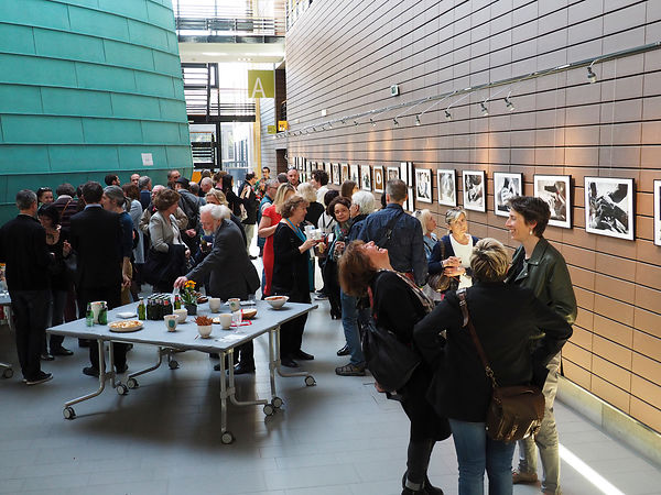 VERNISSAGE au Conseil de l'EUROPE, MERCI!! photos