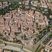 Grosseto aerial photos