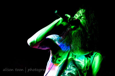 Kyle Gunther, vocals, Battlecross