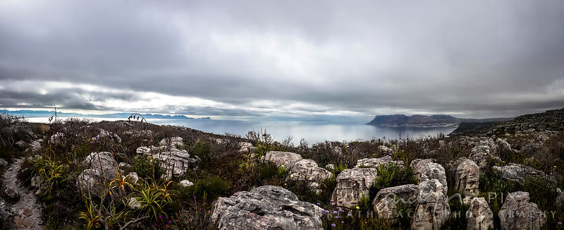 Gift of a day: view over False Bay from St James Peak