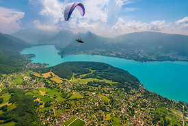 Cross Country flying with Fabien Blanco