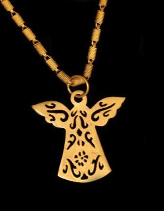 Byzantine Angel necklace
