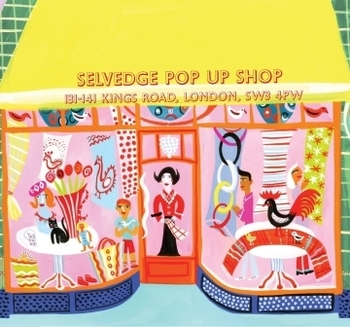 Selvedge Pop Up Event Anthropologie