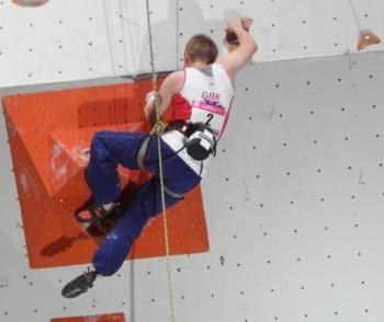 Fran Brown paraclimber