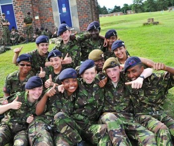 Fulham army cadets