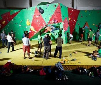 Climbing Westway Sports Centre