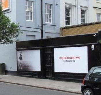 Orlebar Brown 178 Westbourne Grove in Notting Hill