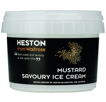 Heston Blumenthal savoury ice cream Waitrose