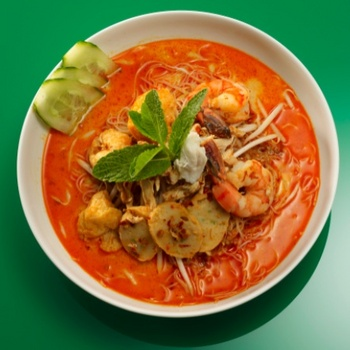Malaysian prawn laska