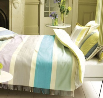 Designers Guild bed linen fabric Kings Road