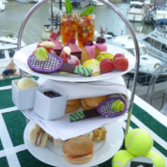 Wimbledon afternoon tea